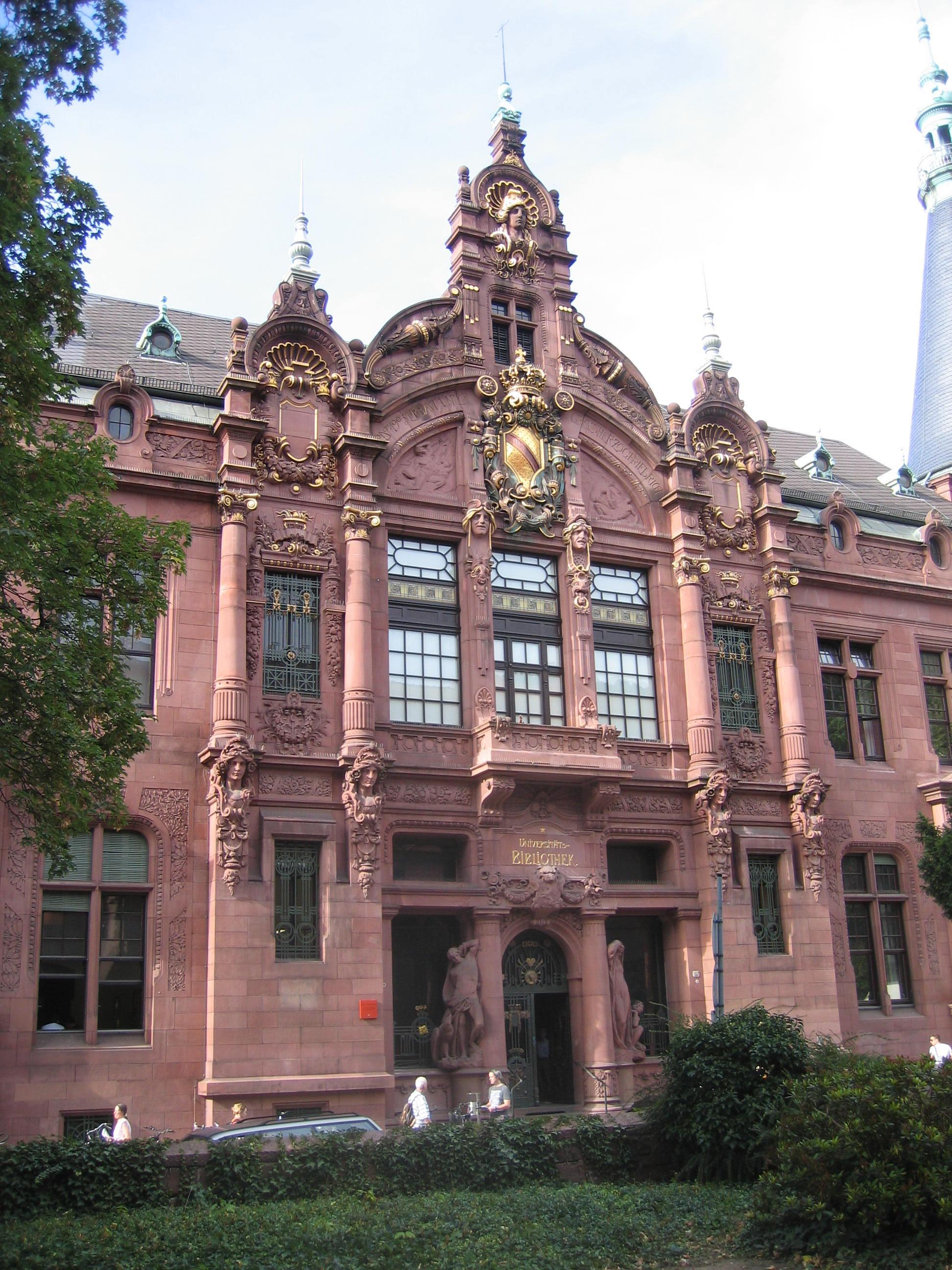 universitätsbibliothek heidelberg handschriftenabteilung
